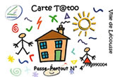Carte tatoo
